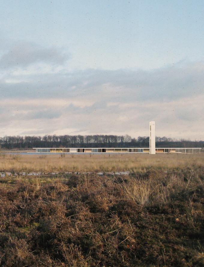 E01 GREAT FEN – centre d'information du parc National du Great Fen, Longdrove (GB)