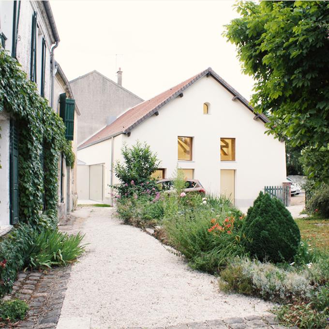 E03 COQ FAISAN – transformation d'une grange en salle municipale, Bailly-Romainvilliers (77)