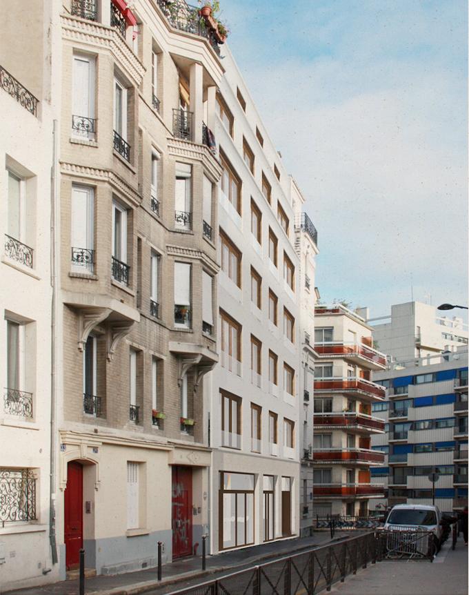 HC10 ANNELETS – construction d'un immeuble de 9 appartements, Paris (75)