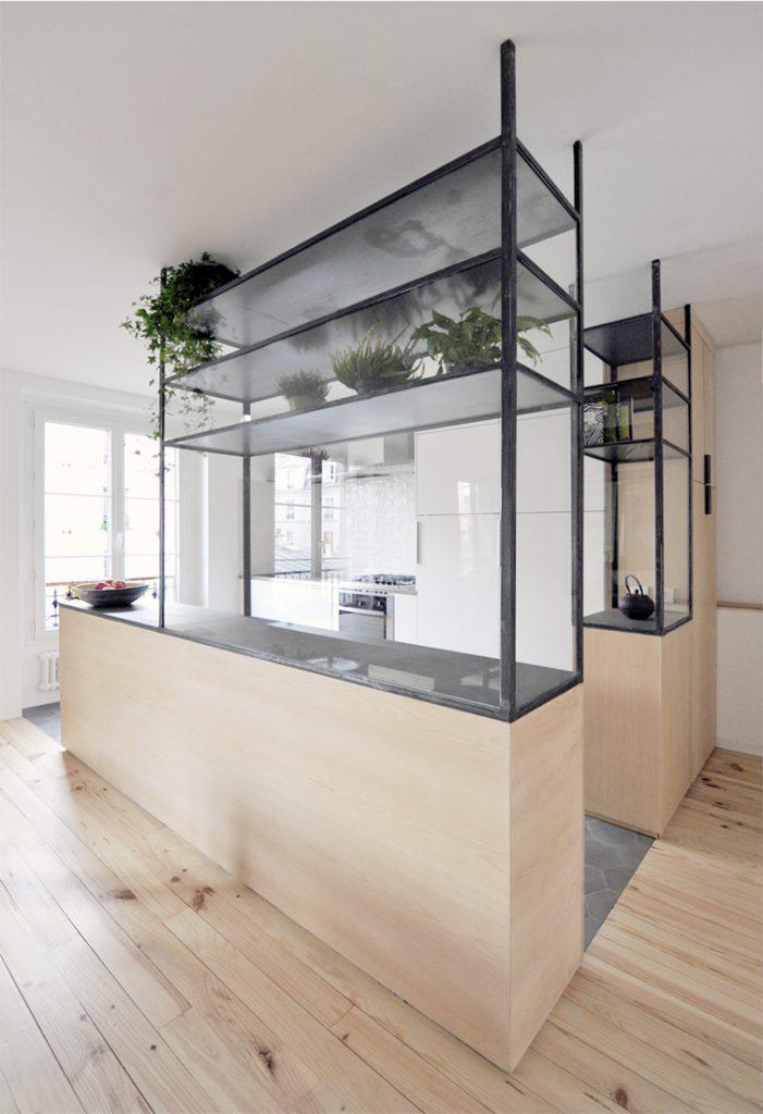 HI04 APPARTEMENT Z – rénovation d'un appartement, Paris (75)