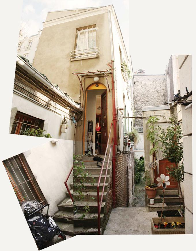 HI05 MAISON M – rénovation d'une maison de ville, Paris (75)