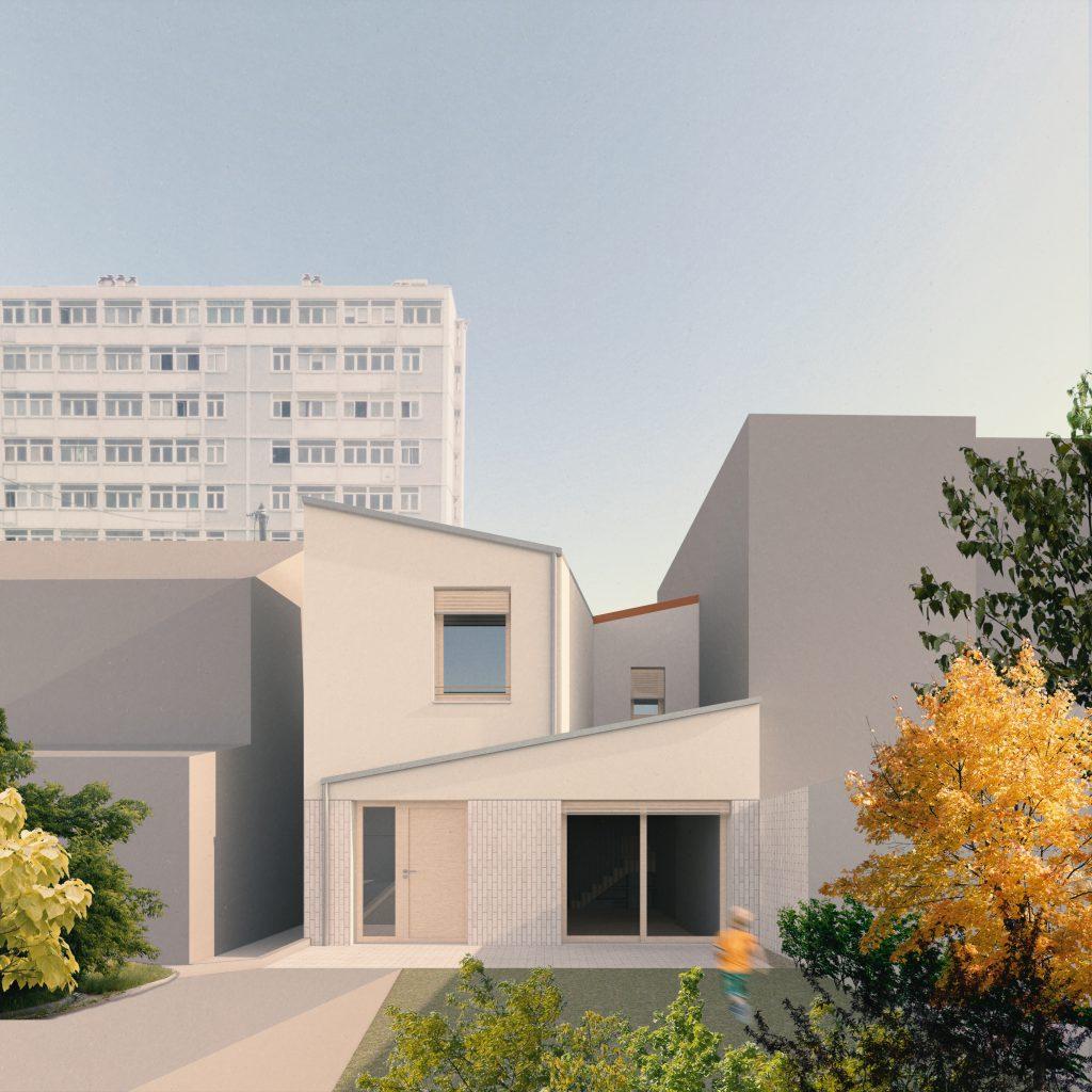 HI10 MAISON D – extension et rénovation d'une maison, Bagneux (92)